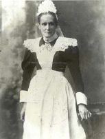 Granny Vlok owner/manager at a local hotel Barberton Concentration Camp