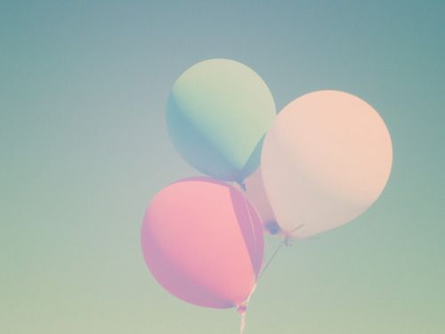 Pastel pastel pastel balloons colorful, cute, pastel, photography, sky