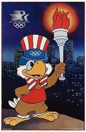 1984 Summer Olympics  Los Angeles CA  I have one of the flags for the bike race