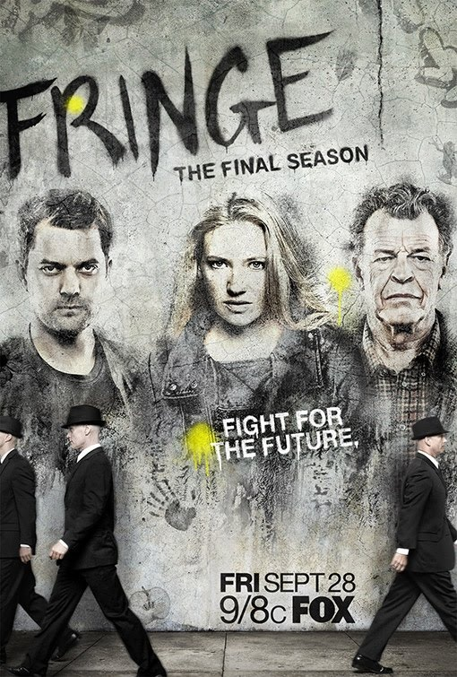 Fringe Season 5 Rebels Poster ~ Fringe Television - Fan Site for the FOX TV Series Fringe