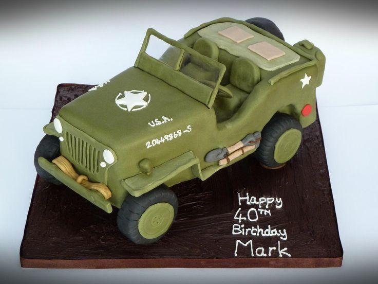 Army Vehicle Birthday Cakes » Cake Design Ideas