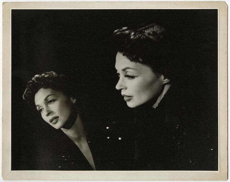 LARGE VINTAGE 1954 LILLI PALMER GLAMOUR PHOTOGRAPH FEMME FATALE WALLACE SEAWELL