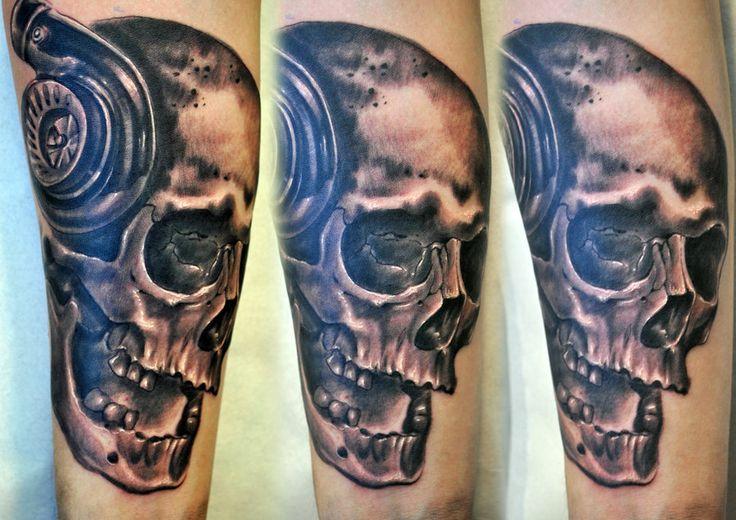 Turbo Skull Tattoo Tattoo Ideas Pinterest Tattoo