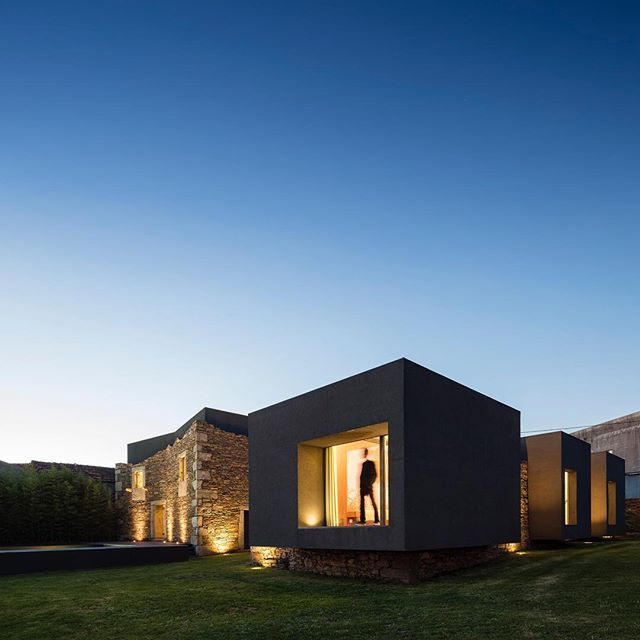 Vigario House by AND-RE (2015), Paredes #Portugal ... Area: 450 sqm.  Fernando Guerra