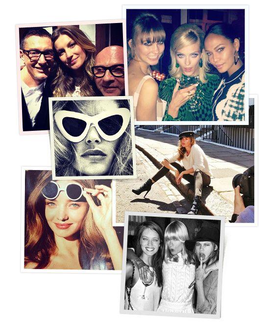 la semaine des tops sur Instagram Doutzen Kroes Erin Wasson Gisele Budchen Karlie Kloss Joan Smalls Natalia Vodianova Miranda Kerr Jourdan Dunn Emily didonata, anja rubik