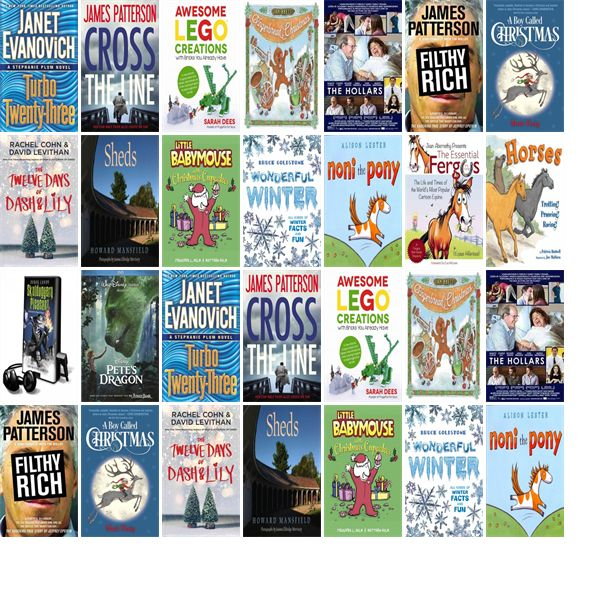 "Wednesday, November 23, 2016: The Sandown Public Library has three new bestsellers, two new videos, one new audiobook, seven new children's books, and three other new books.   The new titles this week include ""Turbo Twenty-Three: A Stephanie Plum Novel,"" ""Cross the Line,"" and ""Awesome Lego Creations with Bricks You Already Have: 50 New Robots, Dragons, Race Cars, Planes, Wild Animals and Other Exciting Projects to Build Imaginative Worlds."""