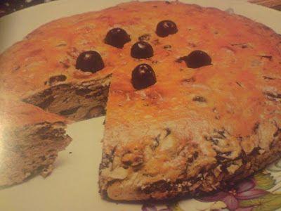 Νηστίσιμο: Πίτα με ελιές.