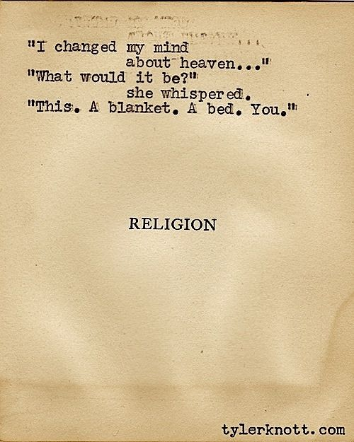 I changed my mind about heaven