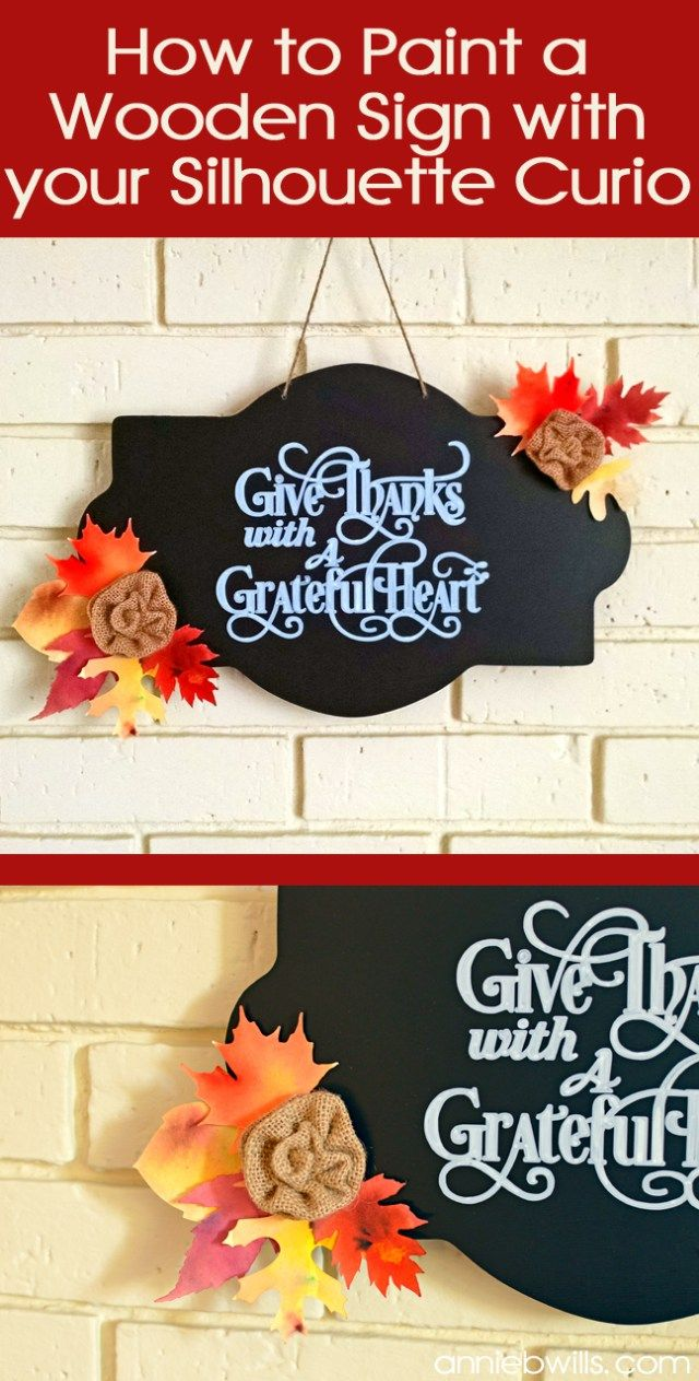 Thanksgiving Chalkboard Sign by Annie Williams - Main