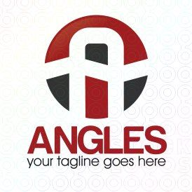 Exclusive Customizable A Letter Logo For Sale: Angles | StockLogos.com
