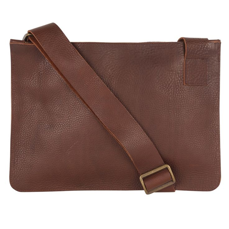 Sarah Baily | Luca Bike Bag - Brown leather