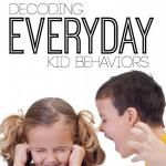 Decoding Kid Behaviors different bloggers figuring out senses in children. Great reads.