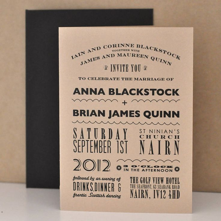 funny wedding invites
