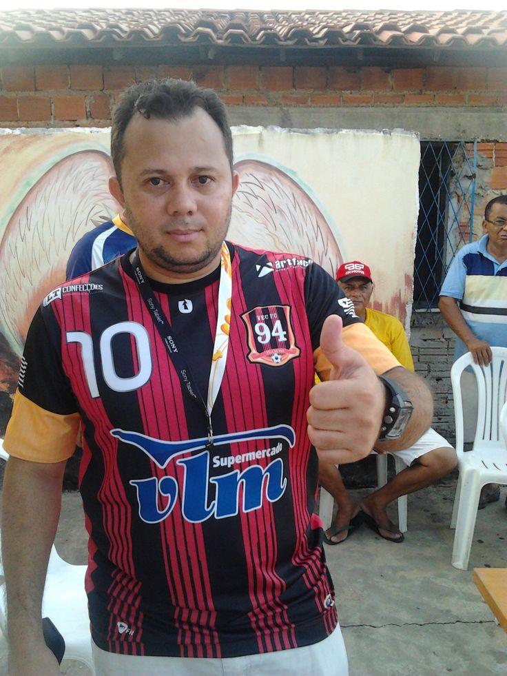 Nova camisa do VEC Futebol 2013