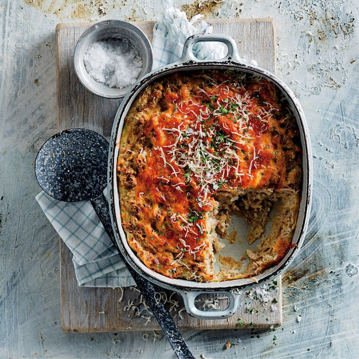 Tuna and biscuit bake
