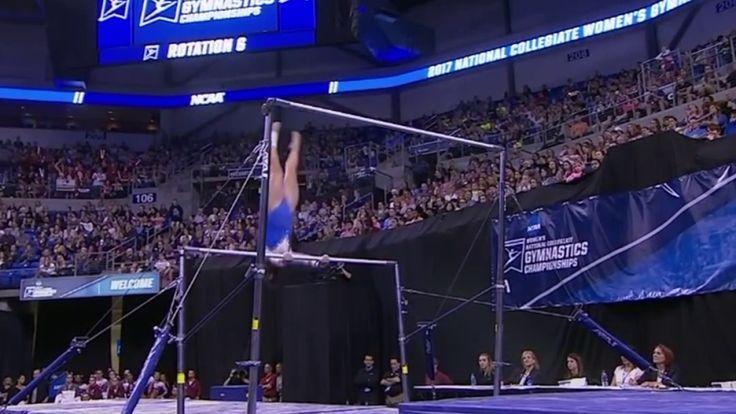 Amelia Hundley Bars 9.900 2017 NCAA Super Six - YouTube