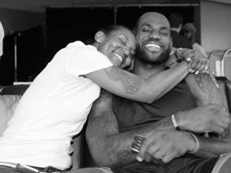 'She's my champion': LeBron James writes tribute to his single mom