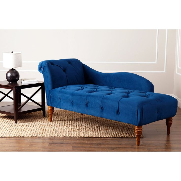 Invite traditional elegance into your home with this polyester velvet chaise from Abbyson Living. Designed with solid birch wood legs and tufted upholstery, this piece is reminiscent of the past with plenty of style to spare.