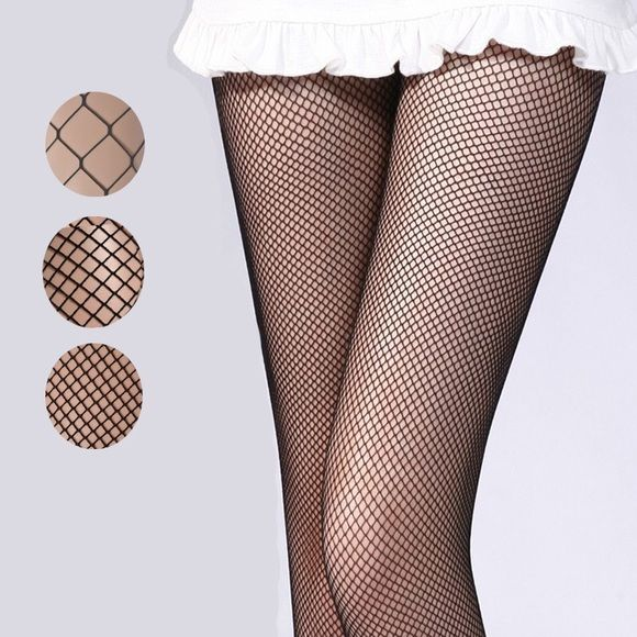 Black Footless tights Black Footless tights. 90% Nylon 10% Elastic, Never Worn. Claire's Other