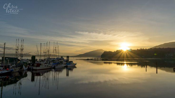Sunrise Osborne Bay in Crofton ~ Vancouver Island