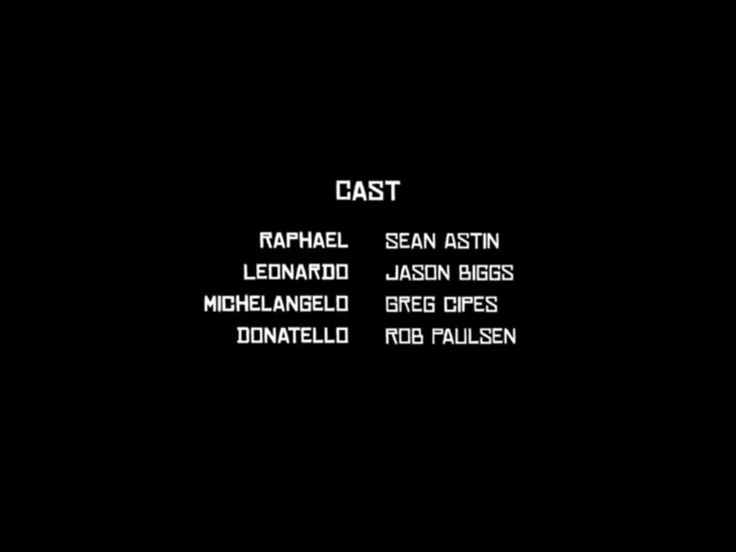 The cast of tmnt love rob paulsen and greg cipes and sean astin