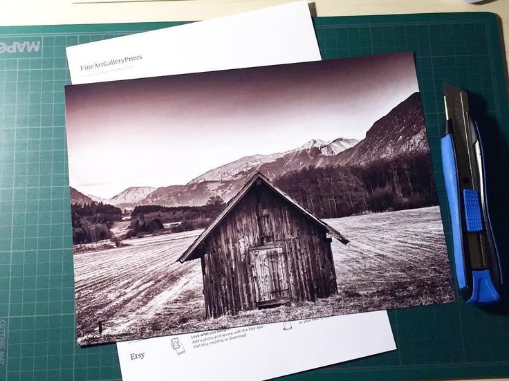A new print is on its way. Another happy customer. #etsy #thebarn #blackandwhite #fineartprintgallery #worksinprogress