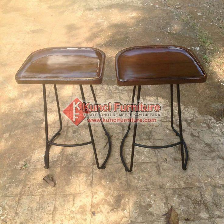 Kursi Stool Bar Cafe Restoran  Materialnya Kayu dan Besi Pengiriman hari Rabu ke DKI Jakarta.  Get ready custome furniture juga  Monggo yang mau order bisa Hubungi Line: @ret1594t (pakai @ ya) 0858-7516-6325 (WA/Telegram) Email: kuncifurniture@gmail.com BBM: 575FFB84 Info Lengkap -> http://bit.ly/LineKunciFurniture  Fast Respon add Line / WA #stooljati #stool #stoolsample #stoolbar #stoolcafe #stoolkayu #kursistool #kursibar #kursibarkayu #kursi #kursibarminimalis #kursibarcafe #kursibarunik…