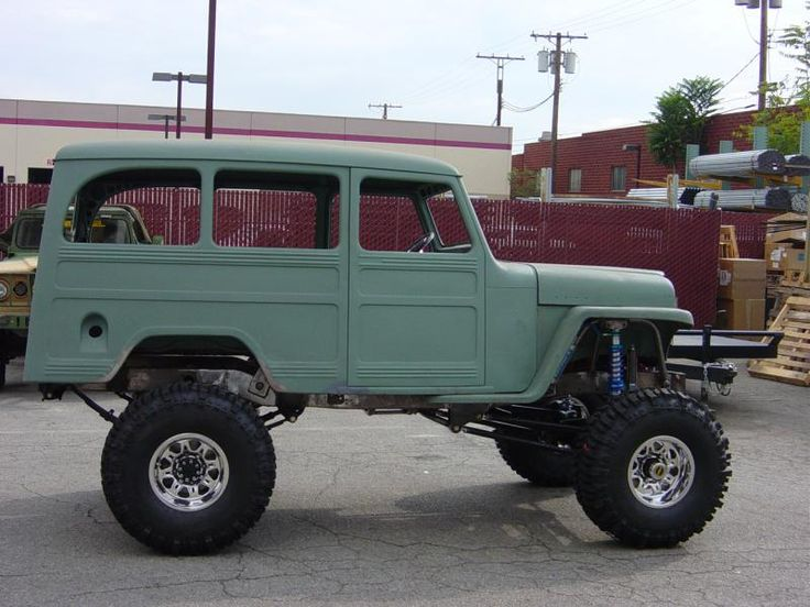 Willys Wagon Roof Rack >> 17 Best images about Vehicles on Pinterest | Jeep pickup, Chevy and Trucks
