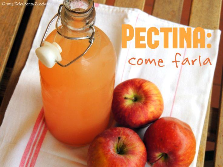 Pectina: come farla a Casa con le Mele e Limoni. Ricetta con indice glicemico basso, senza glutine, vegan e facile facile