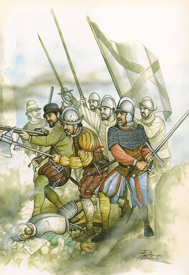 El asalto a San Quintín 1557.