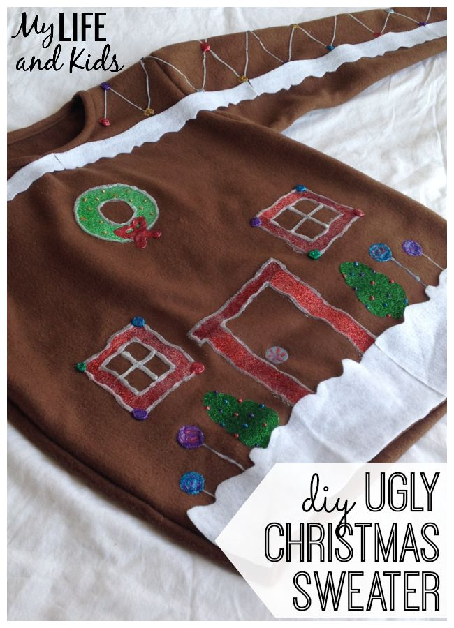 How to create your very own DIY Ugly Christmas sweater. Full tutorial included. It just doesn't get much uglier than this. Merry Christmas!