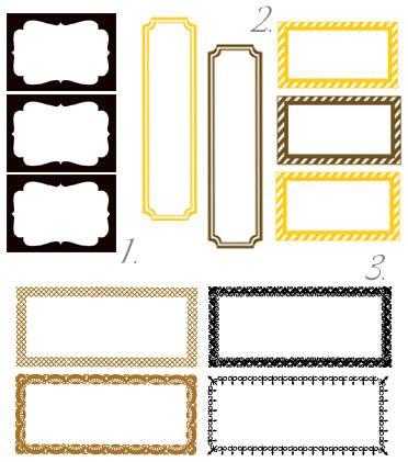 labels - printables