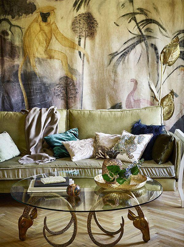 A Colecao Luxo Tropical Da Zara Home