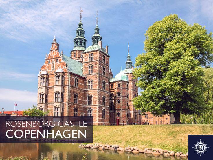 Ontdek de geschiedenis van Rosenborg Castle Gardens, het oudste park in Kopenhagen. Karakteristieke lindebomen en grachten langs de tuinen, zorgen voor een werkelijk sprookjesachtige omgeving. #MSCMusica