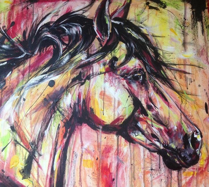 Rabid Horse Artwork Home Facebook - 735×658