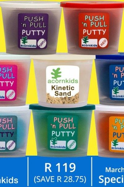 Acornkids Special 6: Push n Pull - Individual Goodies & Services-Playtime, Learning & Sports-Free State, R119.00 - https://babydorie.co.za/baby-kids-playtime-learning-toys-2/acornkids-special-6-push-n-pull.html