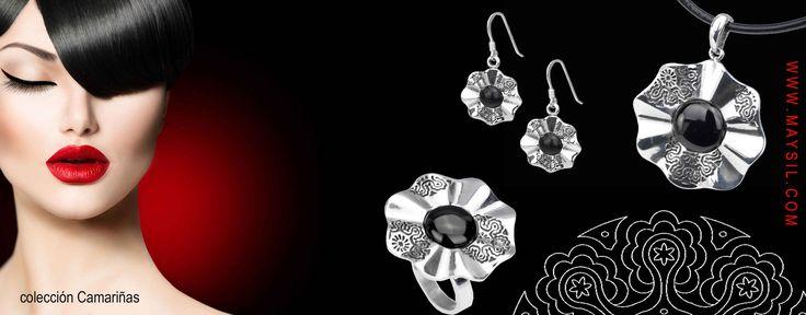 Colección Camariñas .Realizada en plata y azabache | Joyas