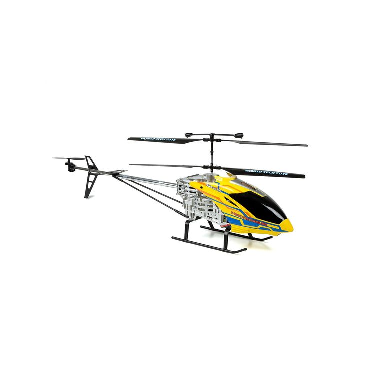 World Tech Toys Mega Hercules Unbreakable 3.5ch RC Helicopter, Multicolor