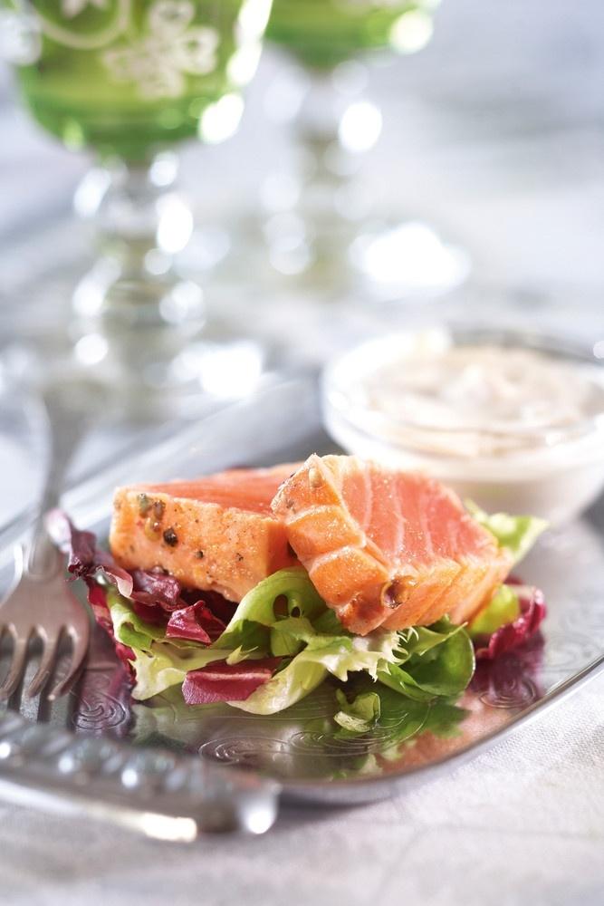 Lohipastrami ja wasabikastike | K-ruoka #joulu