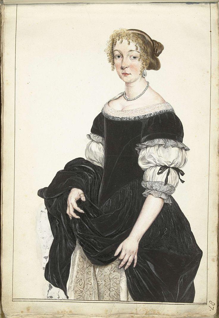 Portret van Aletta Pancras