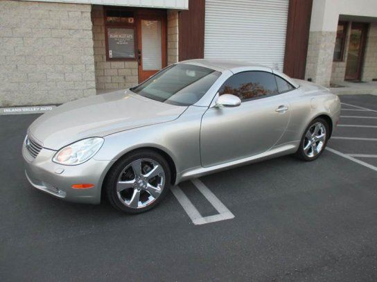 Convertible, 2002 Lexus SC 430 Convertible with 2 Door in Upland, CA (91786)