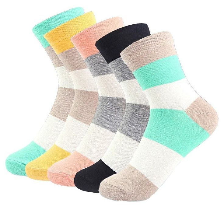 Fashion 5 Pairs Women Ladies Socks Lot Cotton Casual Dress Soft Socks #Unbranded #Athletic