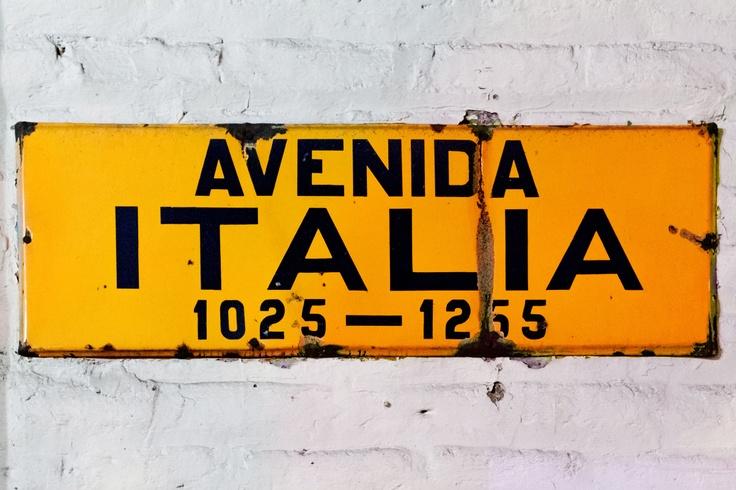 Avenida Italia, Barrio Italia, Santiago, South America