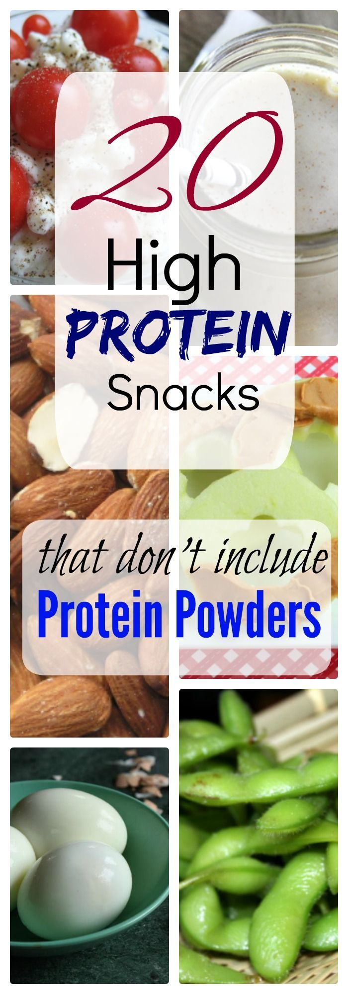 20 High protein snack ideas that dont include protein powders