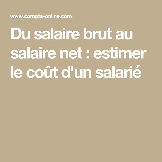Du salaire brut au salaire net : estimer le coût d'un salarié
