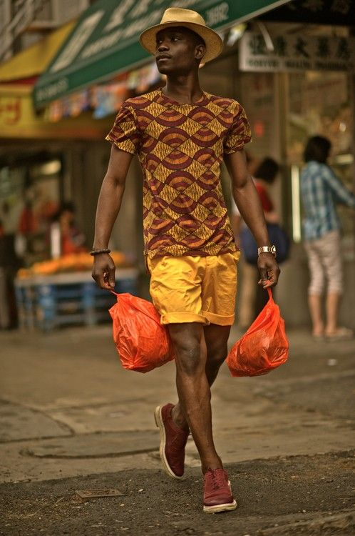 Hipster with a Caribbean flair. This is so my outfit for Italy. Retrouvez toutes les sélections Best-Of de CéWax sur le blog:https://cewax.wordpress.com/ Style ethnique tissus africains, Ankara, african men fashion prints pattern fabrics, wax,, kente, kitenge, kanga, bogolan, pagne, mud cloth, woodin…