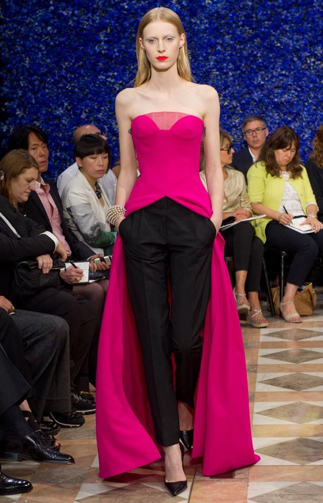 El sentido de la Alta Costura en 2013. Raf Simons para Dior