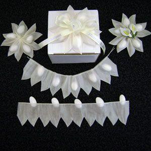 Jordan Almond Flower Favors   Star Shape