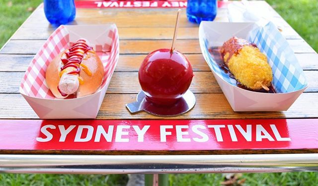 GELATOFFEE APPLE, MESSINAWIENER and YEEEAH DAWGS only at  #sydfest till 26th Jan