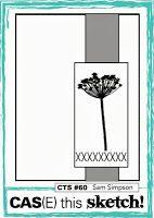 Pretty Periwinkles: CAS(E) This Sketch #60